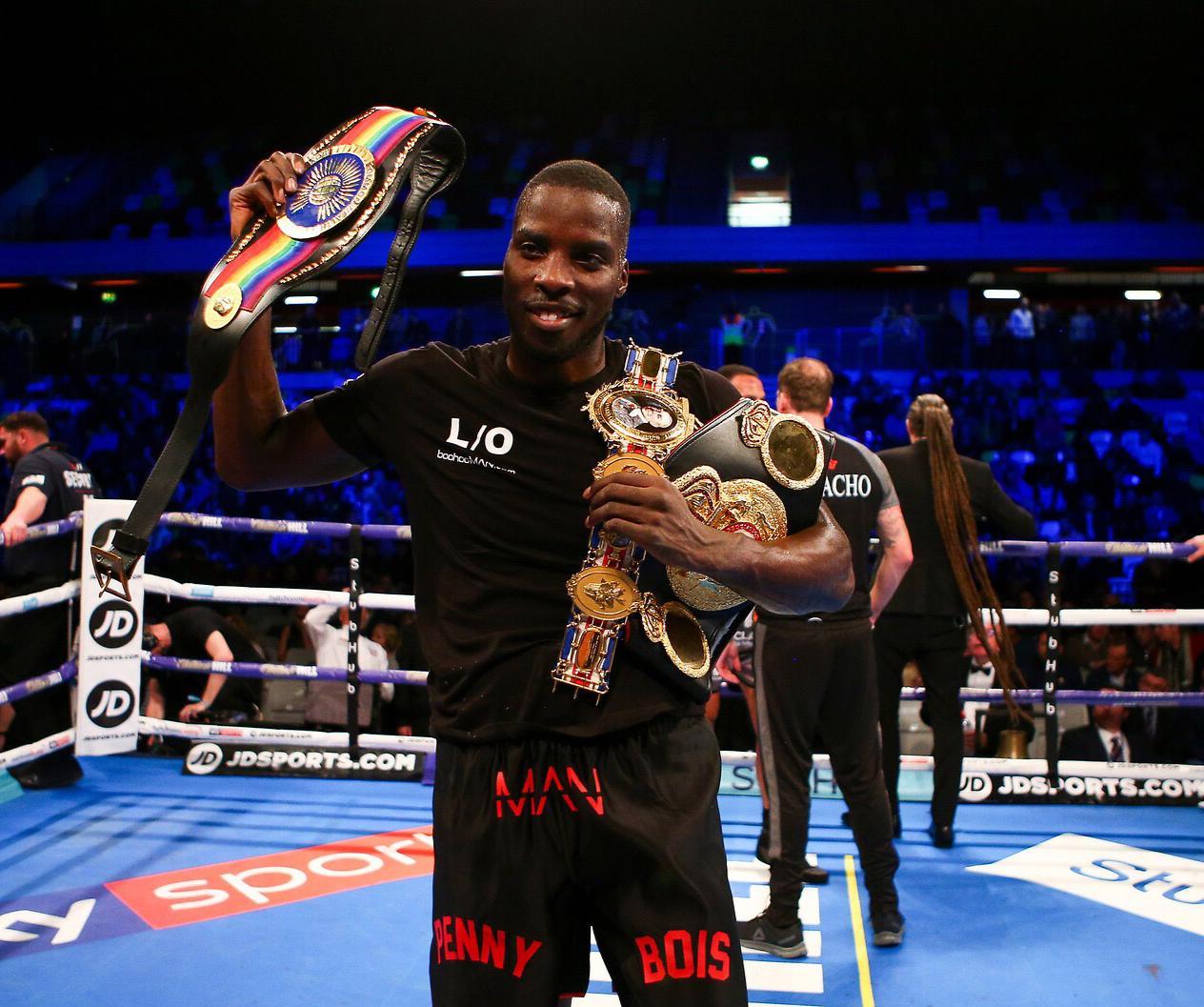 Sponsor Matchroom Boxing Usa: Massey Out Of Okolie Clash