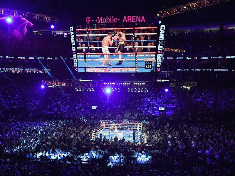T Mobile Arena To Host Canelo Vs Jacobs Matchroom Boxing