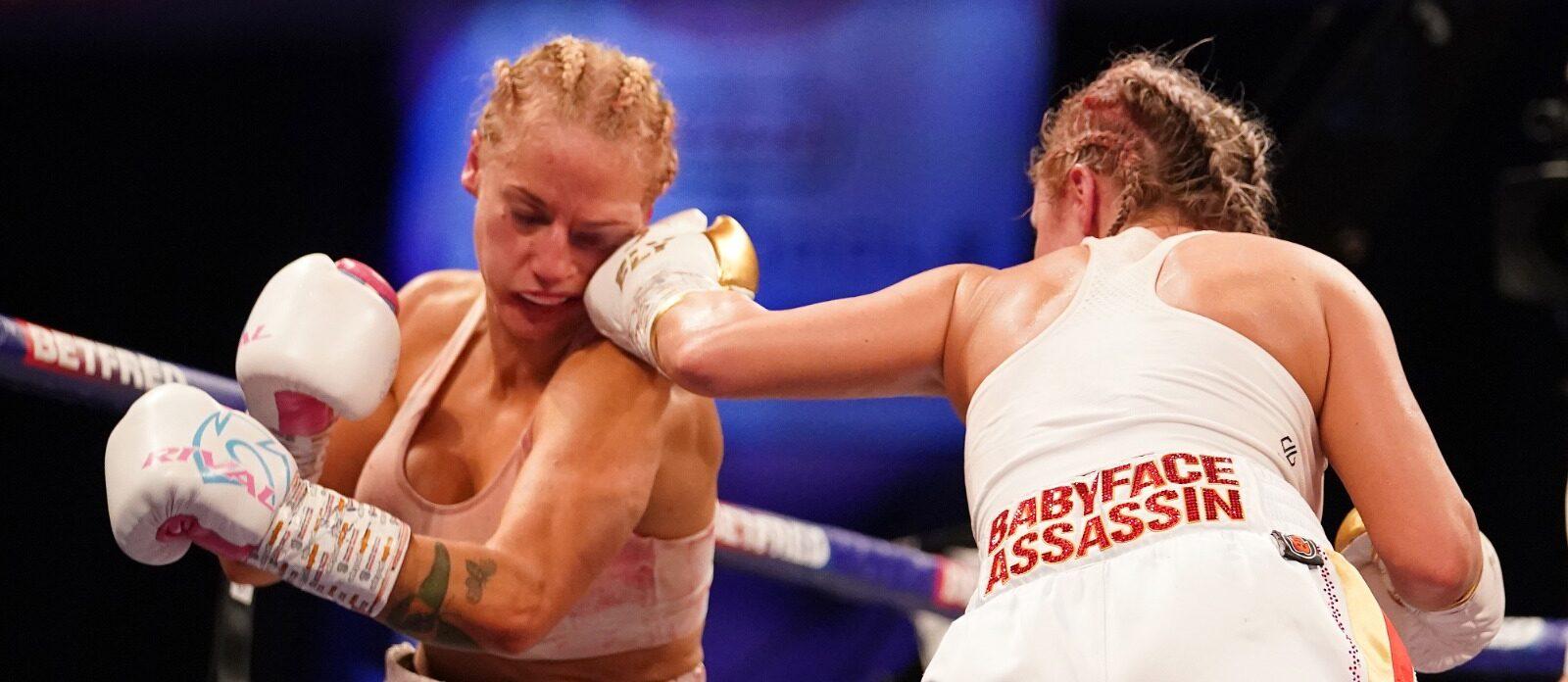 Shannon Courtenay vs. Ebanie Bridges | Boxen247.com