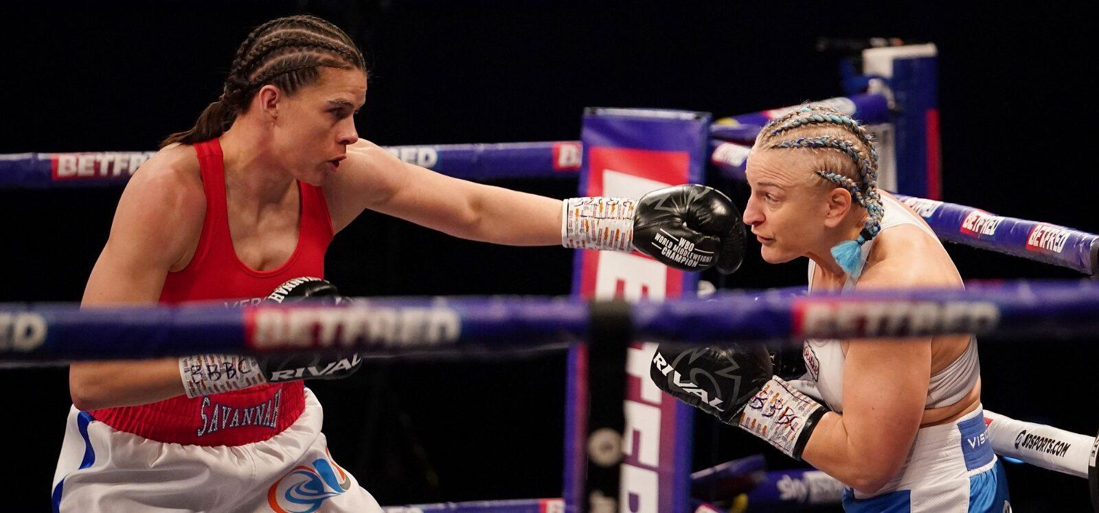 Savannah Marshall vs. Maria Lindberg | Boxen247.com